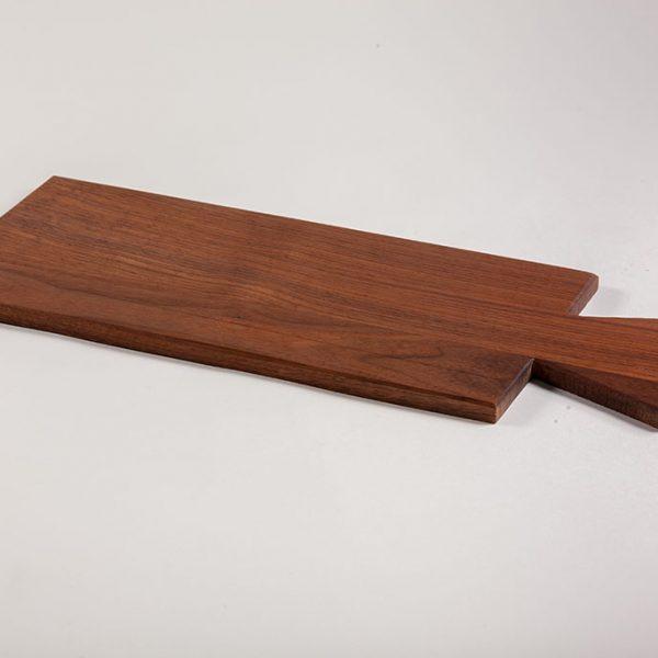 custom serving tray in fishtail shape