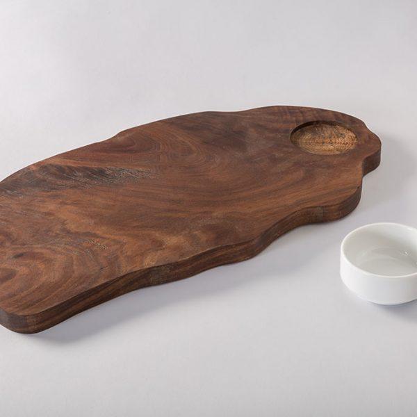 irregular shaped wood serving trays