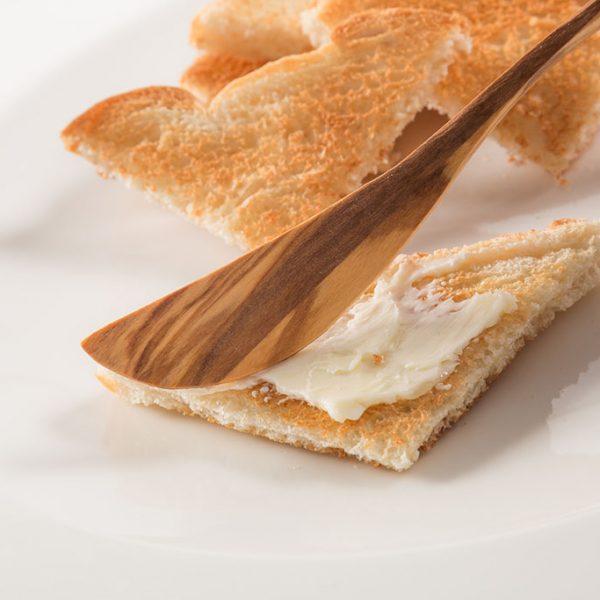customizable wood butter spreader